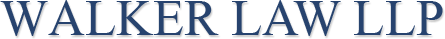 Walker Law LLP  logo
